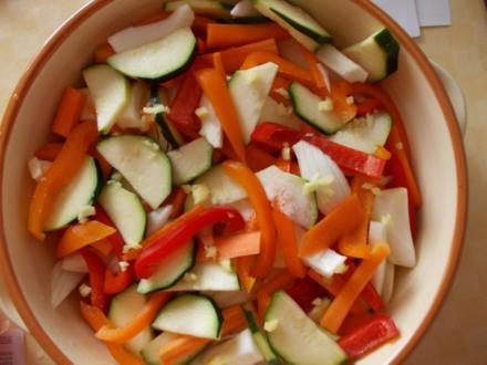 Gemüse Auflauf - Rezept