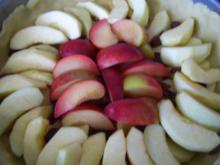 Apfel-Pflaumenkuchen mit Streuseln - Rezept