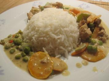 """Scharfes Putengeschnetzeltes auf """"Thailändische Art"""" - Rezept"""