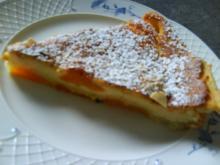 flan aux abricots - Rezept