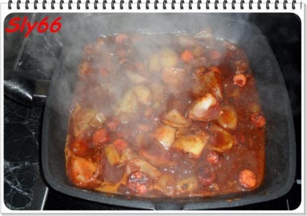 Fleischgerichte:Geschmorte Beinscheiben - Rezept - Bild Nr. 9