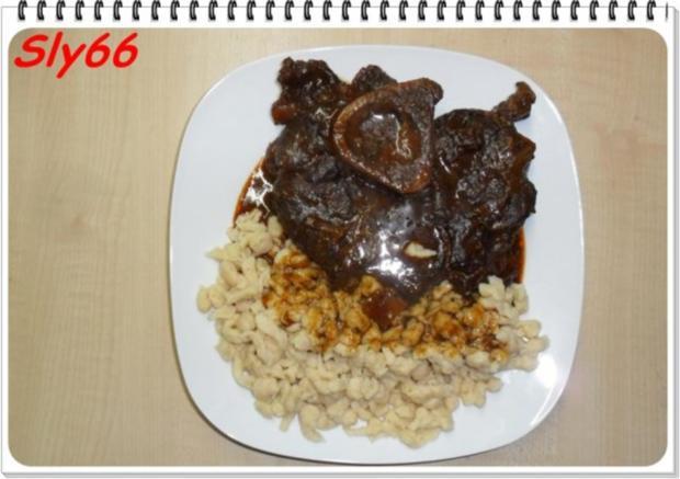 Fleischgerichte:Geschmorte Beinscheiben - Rezept - Bild Nr. 16