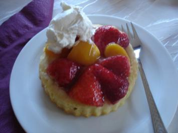 Obst-Torteletts - Rezept