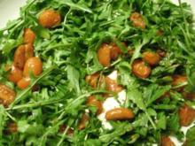 Hähnchenbrust auf Tomaten - Ruccola - Tagliatelle - Rezept