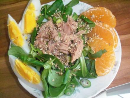 """Vorspeise – Salat """"Osternest"""" - Rezept"""