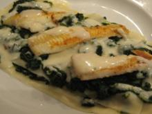 Schollen-Spinat-Lasagne - Rezept
