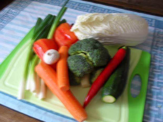 Rindfleisch scharf - aus dem Wok mit Gemüse - Rezept - Bild Nr. 4