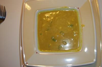 Curry-Kokos Suppe - Rezept
