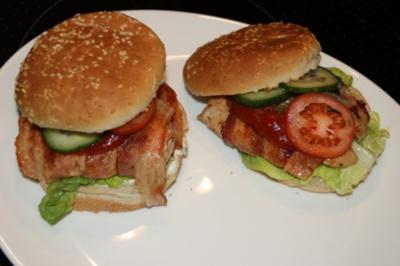 Chicken-Burger a la Chef - Rezept