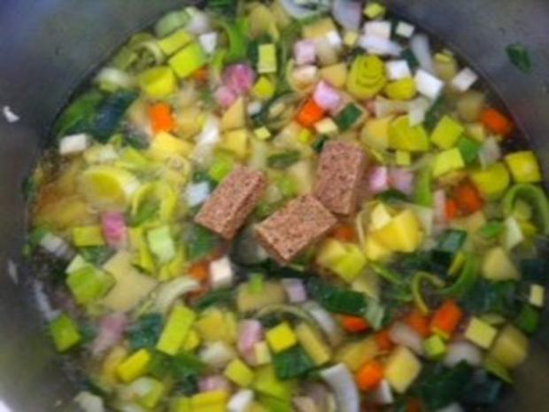 Oberfränkische Kartoffelsuppe - Rezept - Bild Nr. 6