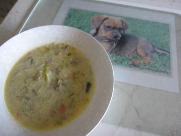 Fenchel-Hack-Käse Suppe - Rezept
