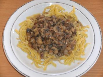 Hauptgericht: Champignonpfanne - Rezept