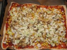 Pizza aus der Dose - Rezept
