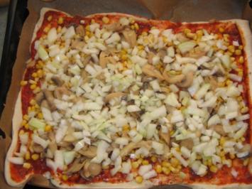 Rezept: Pizza aus der Dose