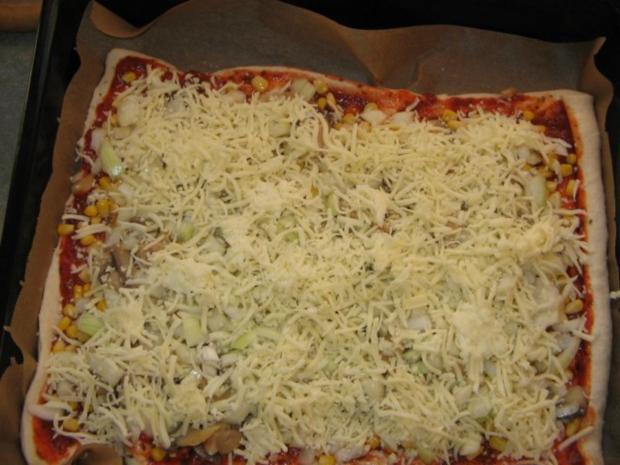 Pizza aus der Dose - Rezept - Bild Nr. 2