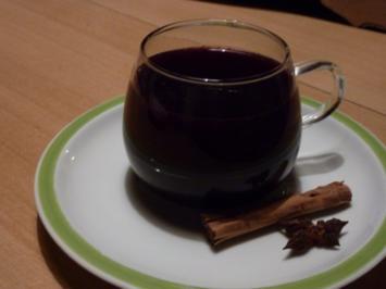 Getränk: Fliederbeerpunsch - Rezept