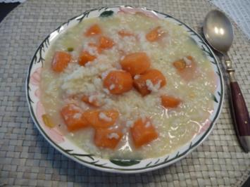 Schonkost : Möhren an Reis - Rezept