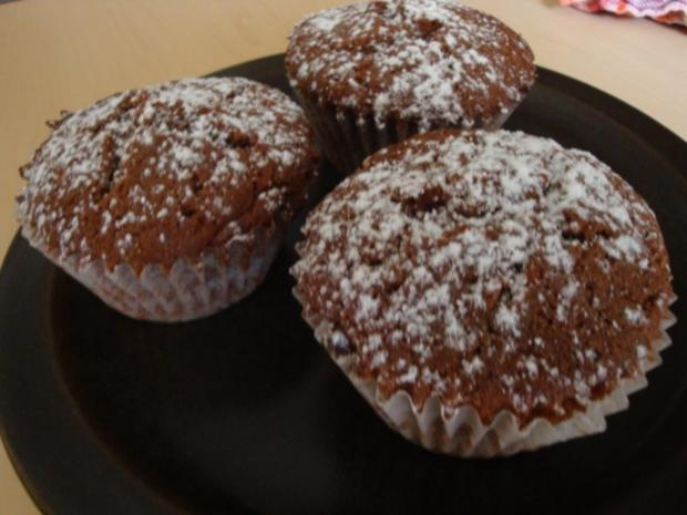 Nuss nougat muffins rezept