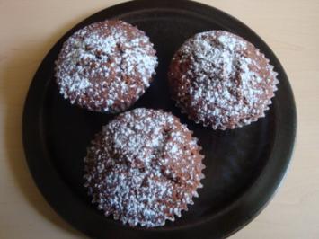 Nuss-Nougat-Muffins - Rezept