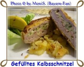 Rezept: Gefülltes Kalbsschnitzel