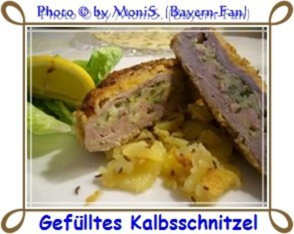 Gefülltes Kalbsschnitzel - Rezept - Bild Nr. 3