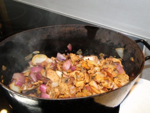 Dünne Schweinefleischscheiben klein (vom Metzger) Fruchtig scharf - Rezept - Bild Nr. 3