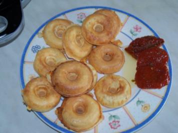 Schinken-Käse Donuts - Rezept