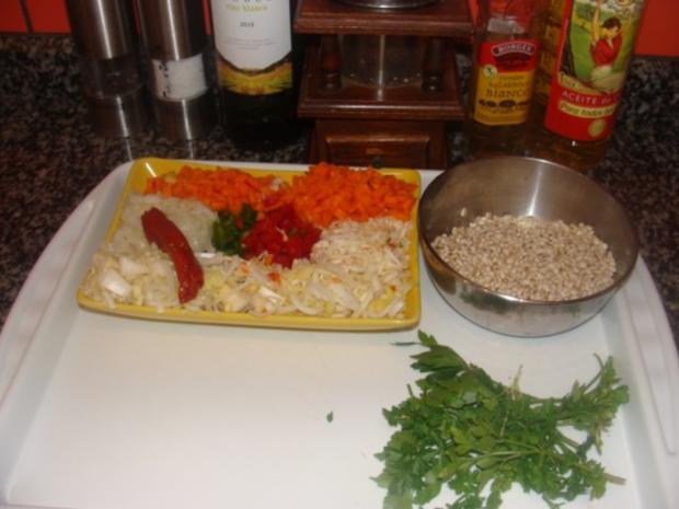 Beilage : Graupen - Gemüsesalat - Rezept - Bild Nr. 3