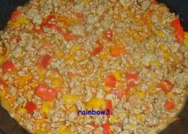Kochen: Paprika-Hackfleisch-Pfanne - Rezept