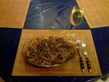 Geflügel: Hähnchen mit Ofengemüse - Rezept