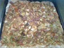 Lauch-Pizza - Rezept