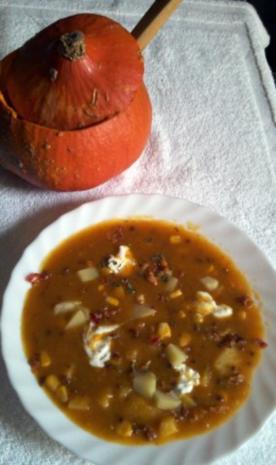 Pumpkin Corn Chowder - Rezept