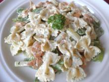 Hähnchen, Gemüse und Nudeln in Käsesoße - Rezept