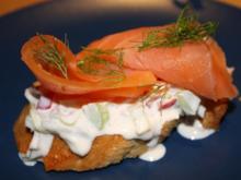 Bunter Frischkäseaufstrich - Rezept