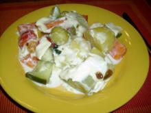 Gemüsetopf mit Schmelzhaube - Rezept