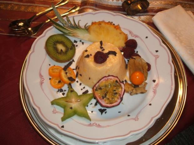 Dessert: Panna Cotta - Rezept