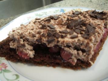 Backen: Schwarzwälder Kirschkuchen - Rezept