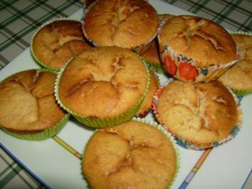 Zitronen-Dinkel-Muffins - Rezept