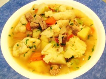 Rezept: Kartoffelsuppe aus Resten