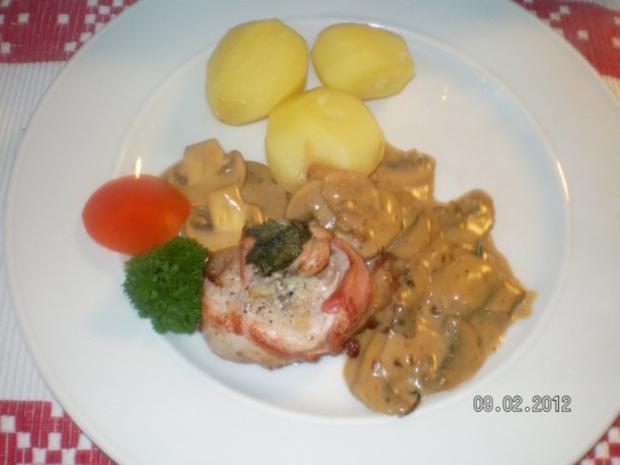 Schweinelende mit Weinbrandsauce - Rezept - Bild Nr. 6