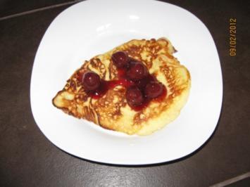 Quark - Pfannkuchen - Rezept