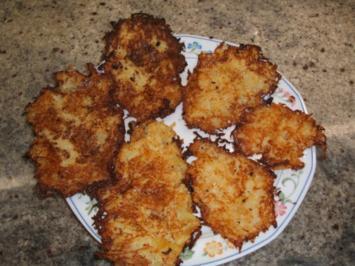 Rezept: Kartoffeln: Baggers - Kartoffelpuffer - Reibekuchen