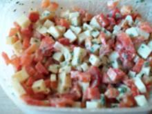 Paprika-Käsesalat - Rezept