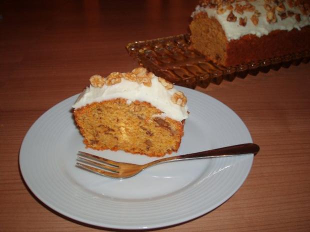 Karotten-Walnuss-Kuchen - Rezept