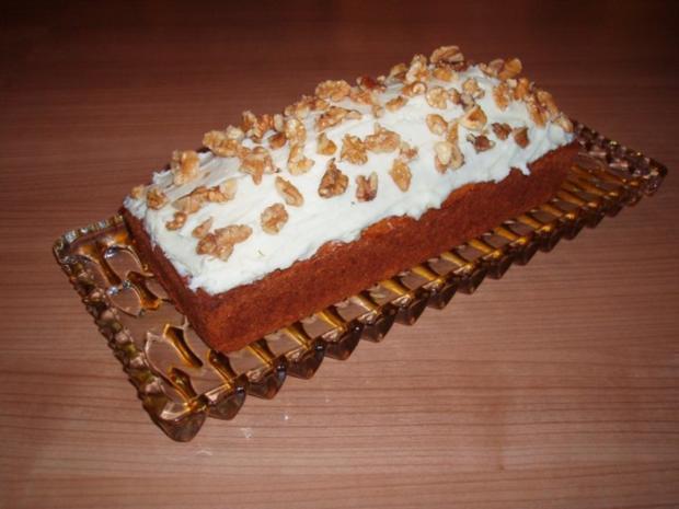 Karotten-Walnuss-Kuchen - Rezept - Bild Nr. 4