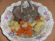 Fleisch: Lammhals, gekocht - Rezept