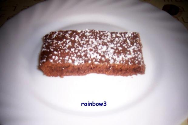 Backen: Mini-Mandel-Schokoladen-Kuchen - Rezept