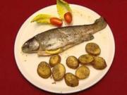 Forelle mit Rosmarienkartoffeln (Herbert Ulrich) - Rezept