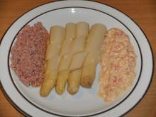 Hauptgericht: Spargel mit 2 Saucen, V.2. - Rezept
