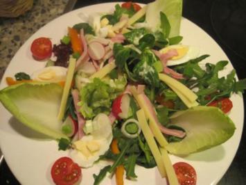 Salat als Hauptgericht - Rezept